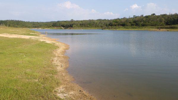 乗馬体験 湖のほとり